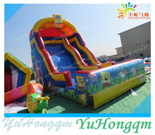 2015 Popular New Arrive Cartoon Inflatable Slide for Kids Safe