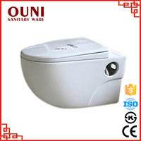 ON-739 Best quality water saving wall hung ceramic discount toilet