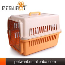 Plastic IATA cages for dogs wholesale dog crate