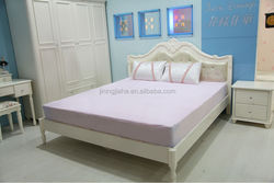 microfiber polyester peach skin mattress cover