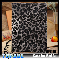2015 factory wholesale New Leopard universal tablet case