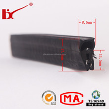 ISO9001 rubber car epdm weather stripping