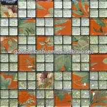 mejor calidad de chino caliente de la venta de mosaico de vidrio
