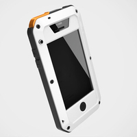 Free Shipping Manufacturer Hottest metal protective womens hot sex images mobile phone case for iPhone 4/4s