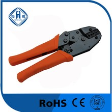 Ratchet type professional coaxial cable crimping tool for RG174, 179, Bleden 8218 Fiber Optic