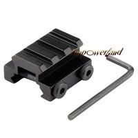"Funpowerland 1/2"" 3-Slot Low Riser WEAVER PICATINNY Rifle Mount/Scope Mount Rail"