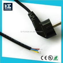 European stand IEC 320 C7 to european plug extension cord