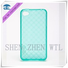 2015 grid cell phone case cover for Iphone 4s