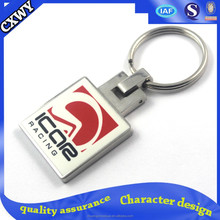 2015Factory some no mold fee metal custom keychain