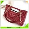 Hot india unique lattice fashion elegant lady leisure bag
