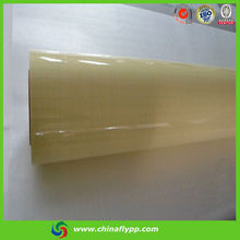 FLY hot selling graphic grade economic kind 60um matt/glossy pvc lamination film