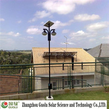 80w Double arm hummingbird solar lights for garden CE Rohs IP65 industrial zone light