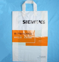 Customized plastic bag,shopping handle bag,using for packing garment