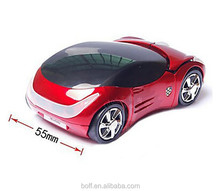 wireless mouse usb charging car shape mouse