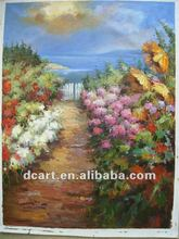 Handpainted Outdoor View Picture