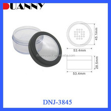 EMPTY COSMETIC PLASTIC LOOSE POWDER CASE WITH SIFTER