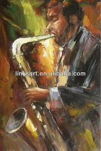 Jass Music Oil Painting Impressionist People Oil Painting Buy Directly