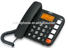 Big button phone, 4 one-touch and 10 two-touch memories function telephone
