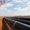 Onshore Oil &Gas Pipeline Concrete Weight Coating Helical Submerged Arc Welded Clad Duplex 32 inch carbon steel pipe