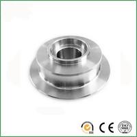 Customized design aluminum CNC machining spare parts, cnc milling machine auto connection parts