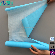 Anheng brand disposable check rolls for medical surgical massage Hygiene Beauty Salon use couch roll