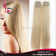 7A Top Quality remy human human hair clip on ponytail weave virgin unprocessed human hair 100 brazilian virgin remy hair weaves