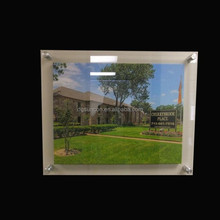 Clear Acrylic Wall Mount picture frame