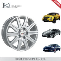 Silver Die Casting Best Quality Chrome Aluminium Alloy Wheel Rim