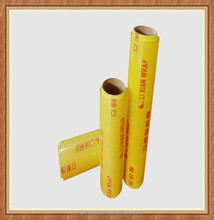 Moisture proof feature and transparent roll plastic pvc cling film