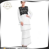 Latest Design Baju kurung and kebaya made in China