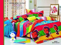 Happy monkey on alibaba hot selling 2014 12868 32*32s 100% cotton luxury pattern china supplier comforter set