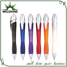 Customized Logo Rubber Grip Fat Pen