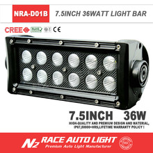 New Design Factory Wholesale Price 36W LED Light Bar For ATV UTV Motorcycle