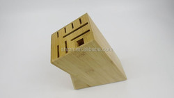 2015 Creative Kitchen Tools Bamboo Knife Blocks for eight knives