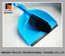 Floor brooms brush and dustpan with shot handle
