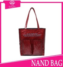2015 New design shopping printed colorful ladies handbags fashion shoulder handbags from China