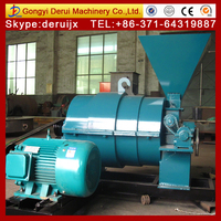 Pulverizer coal burner for coal heat source