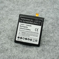 for LG Nexus 5 Lithium Polymer Mobile Phone Battery Pack Replacement Battery