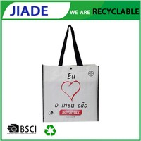 Bulk reusable shopping bags/printable reusable shopping bags/pp woven shopping bags