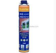 High quality construction polyurethane foam sealant