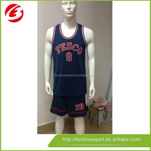 High Quality Top Selling Design Basketball Jersey Uniform