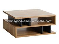 modern melamine wooden coffee table