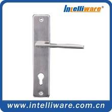 Stainless steel door handle for steel door with competitive price 2K240-SS