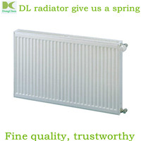 White steel hydronic panel radiator / 500mm Double Panel Radiator / home heating radiators EN442 standard 22 Double 500 1200