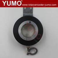 IHA9040 40mm 90mm 3600ppr motor rotary encoder Optical Sewing Machine Elevator hollow shaft incremental resolver to enco