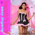 ventas al por mayor sexy traje de cosplay gato caliente para las mujeres