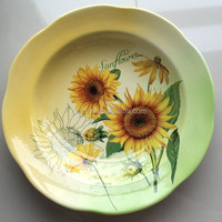 wholesale 10.5 dinner printing ceramic dishes plate