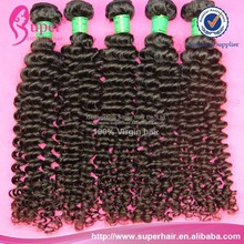 Mongolian kinky curly hair with bangs lace closure no split ends