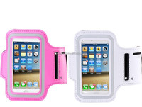 Hot Sale PVC Running Neoprene Sport Armband Mobile Phone Case for iPhone 5 5S
