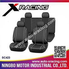 SC423 X-RACING-2015 8pcs universal mesh/PVC car seat covers